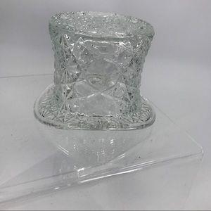 Vintage Fenton Daisy & Button Top Hat Dish